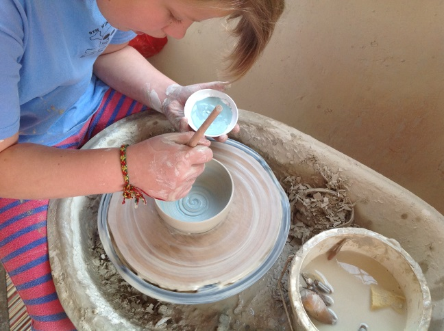 pottery classes Hampshire